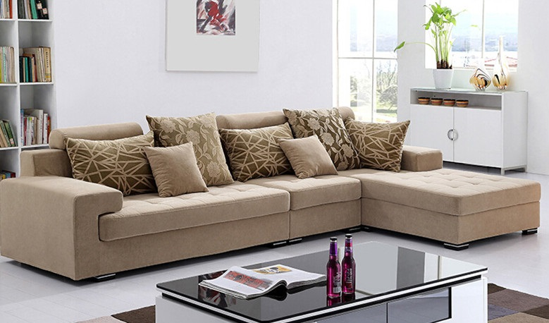 Beautiful Color L Shape Sofa Design Id517