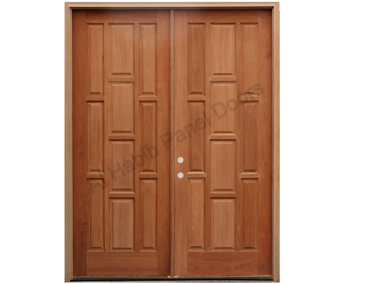 Doors Design: Beautiful Main Panel Door Design Pid011