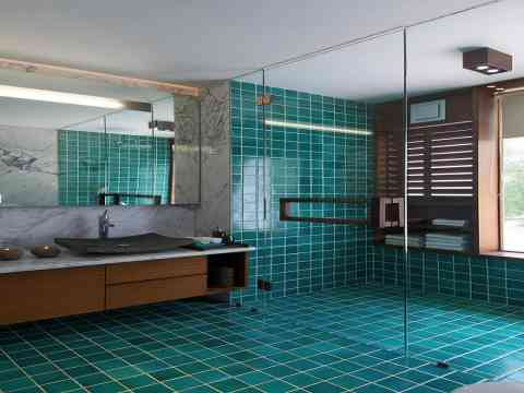 Bathroom Interior Shower Glass Room India