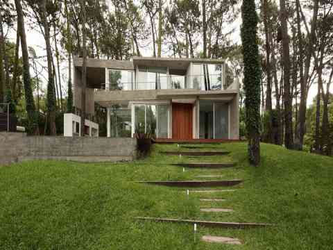 Beautiful Front Garden Fresno House Argentina