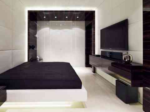 Beautiful High Gloss LCD Cabinet And Wardrobe Design