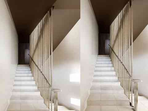Beautiful Staircase Design Switzerland Hotel