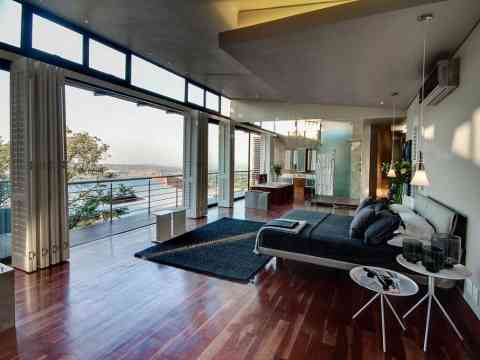 bedroom design and outside view - Bedroom Designs South Africa