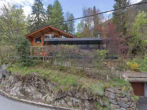 Chalet Front Design Les Houches France