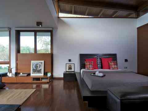 Gorgeous Bedroom Interior Design Villa Ahmedabad India