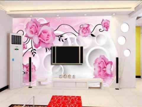 Open Window Wallpaper And Lcd Tv Cabinet Design Id858 - Lcd Cabinet ...