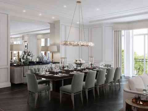 Modern Luxury Dining Room modern luxury dining room design - dining room designs - interior