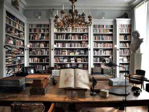 Modern Home Library Design sophisticated home library design idea id796 - modern home library