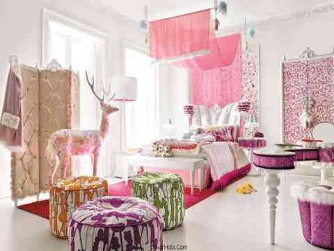 Modern Stylish Girl Bedroom Design And Ani.