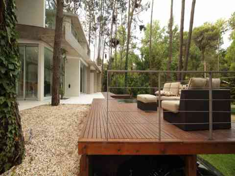 Outdoor Open Living Area Fresno House Carlio Argentina
