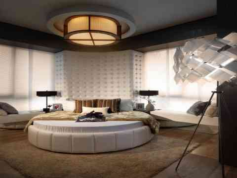 Marvelous bedroom design ideas bedroom designs for Round bed design