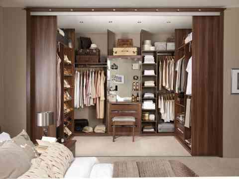 Stunning Master Walk In Wardrobe Design