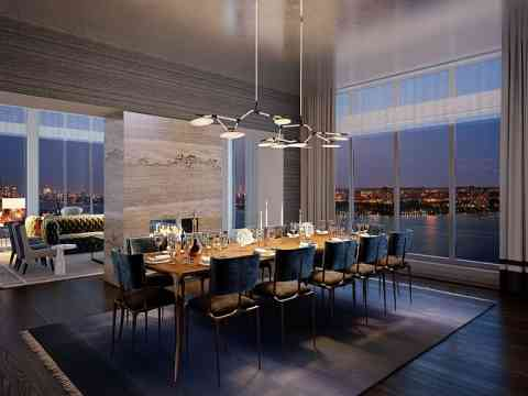 stylish apartment dining room design idea