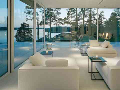 Impressive Glass House In Sweden Modern House Tours Architecture