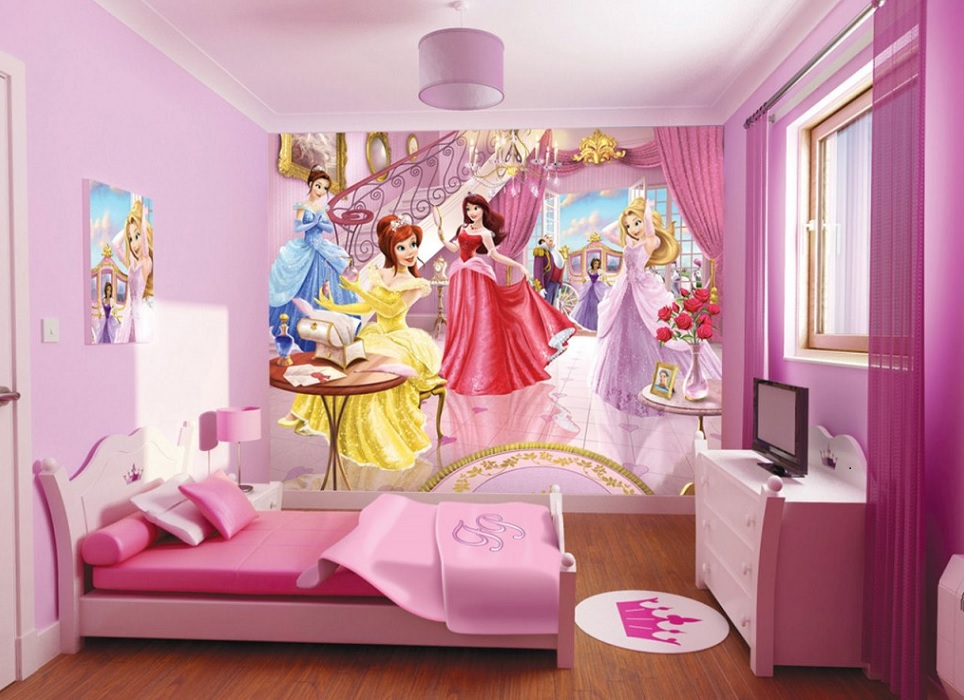 Barbie Room Design Idea For Girls