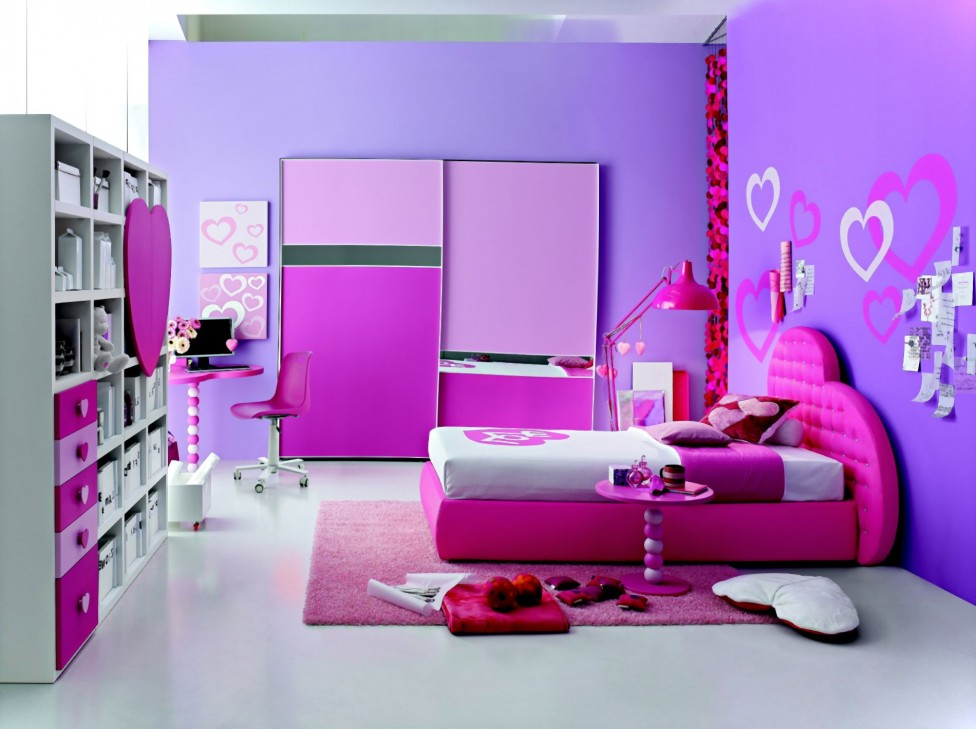 download beautiful colorful girl room design image