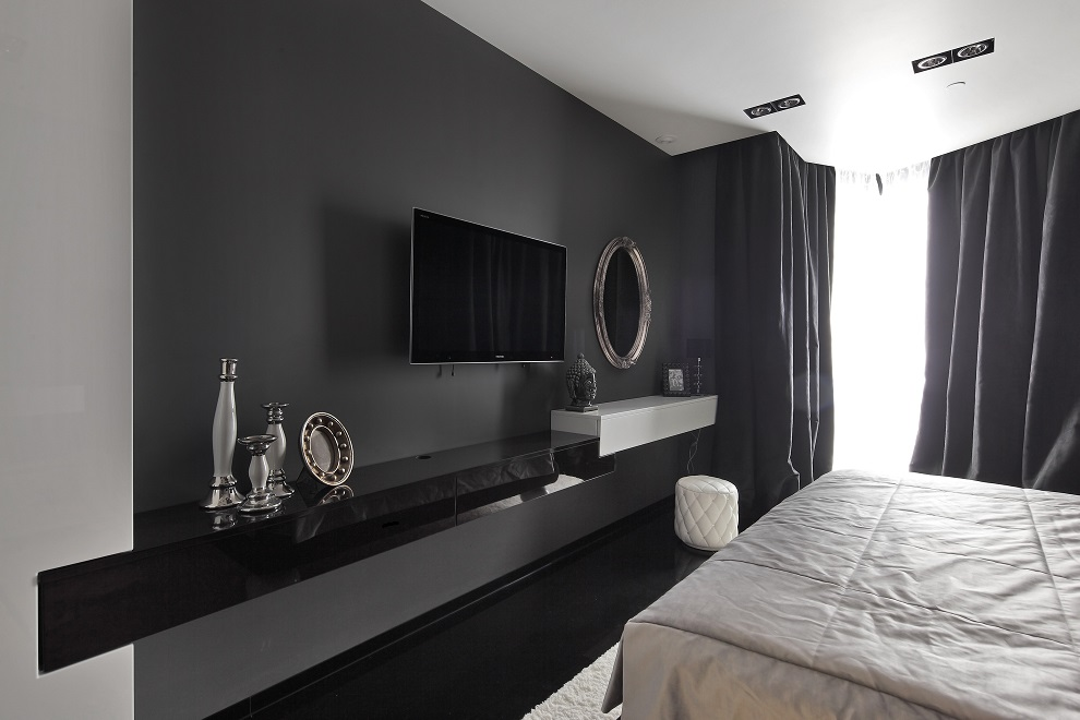 Charcoal Gray Wall Beautiful Lcd Cabinet Design Id981 Modern Lcd Cabinet Designs For Bedroom