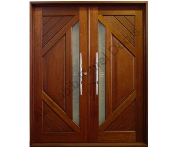 Download Diyar Wood Main Double Door Image ...  sc 1 st  Interior Art Designing & Diyar Wood Main Double Door Pid004 - Main Doors Design - Door ...