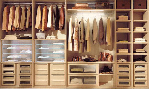 Inside Details Wardrobe Design Id585 - Modern Walk In Closet ...