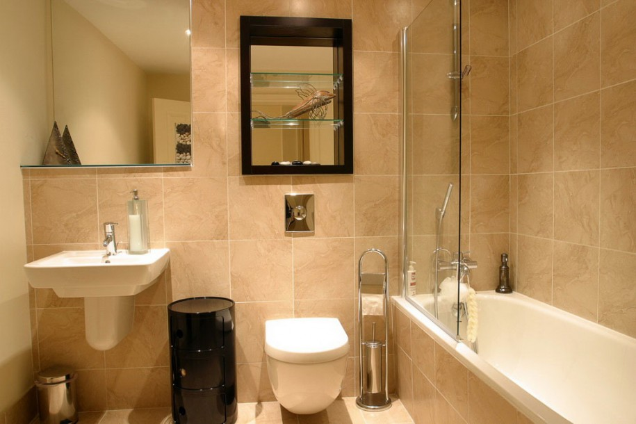 Download inspirational small bathroom design idea image