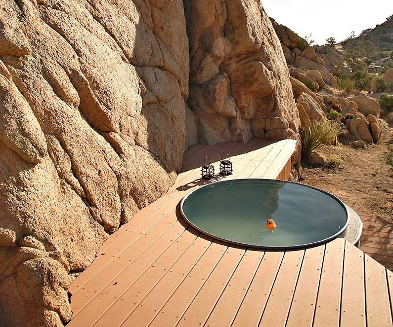 Jacuzzi Hot Tub Rock Reach Home California Usa Id1050 - Rock Reach ...