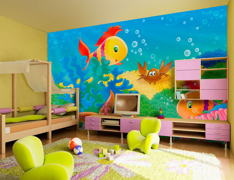 Kids Room Decoration Beautiful Wallpaper Design Id881 Inspiring Kids Room Interior Design Ideas Kids Room Designs Interior Design