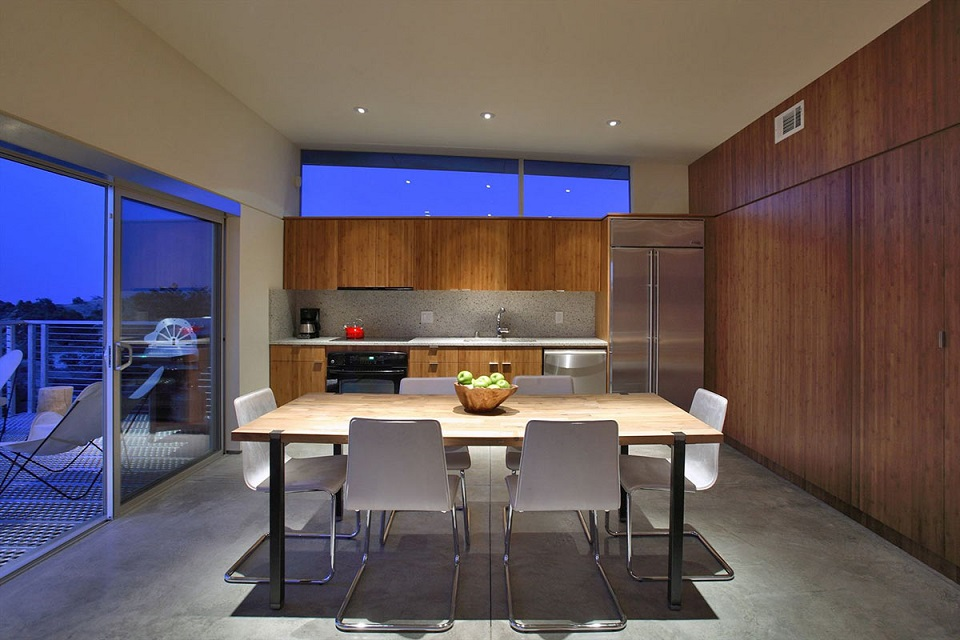 Kitchen And Dining Rock Reach Home California