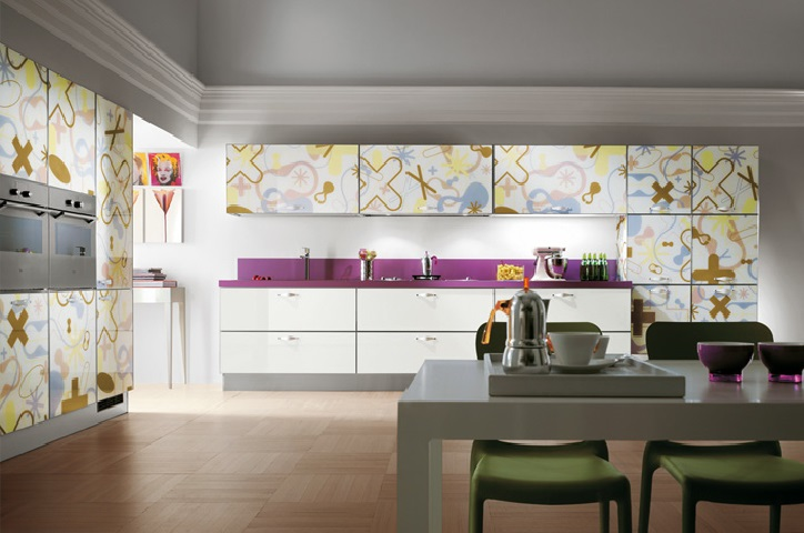 Download Modern Italian Kitchen Cabinet Design Idea Image ...