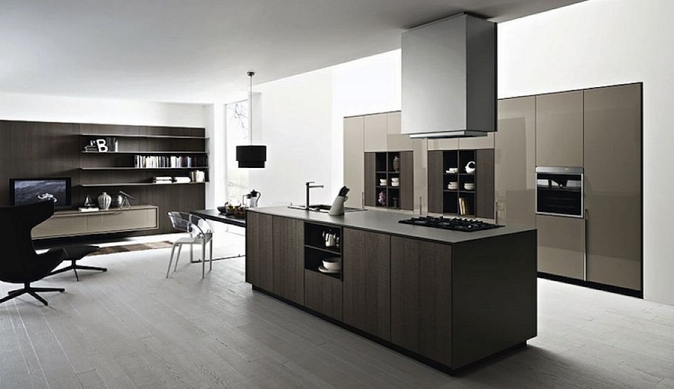 Download Modern Italian Open Kitchen Design Image ...