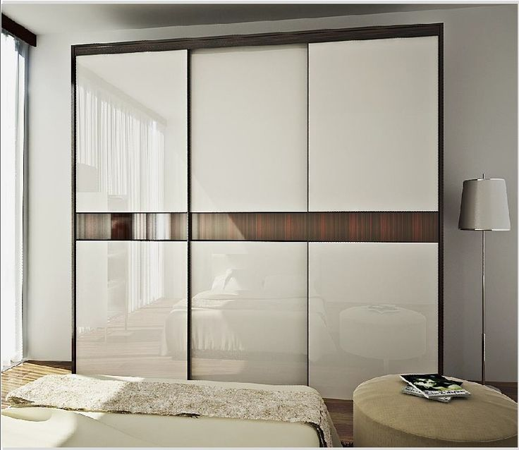Modern Three Doors Sliding Wardrobe Id561