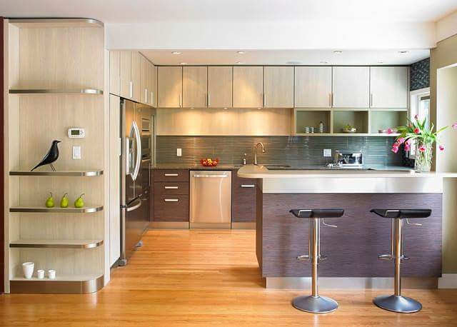 Outstanding Open Kitchen Cabinet Design Id489 Fascinated