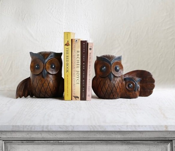 Owl Book Ends Design Gift For Lovers Id640