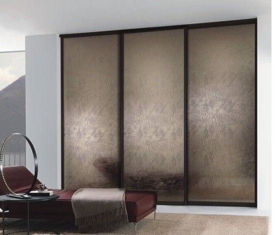 Stylish modern sliding door wardrobe id567 three door for Sliding wardrobe interior designs