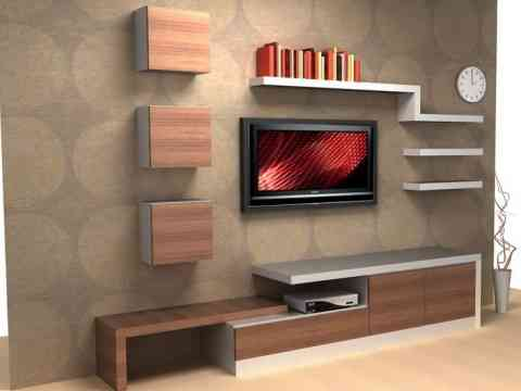 LCD Cabinet Unit Design Ideas