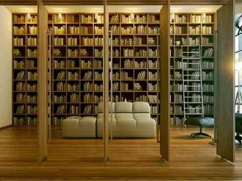 Modern Home Library Designs