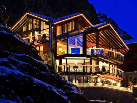 /Six Star Luxury Chalet Zermatt Peak Switzerland