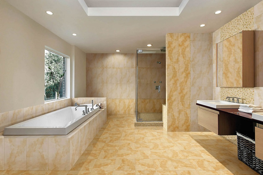 Download Modern Marble Bathroom Design ...
